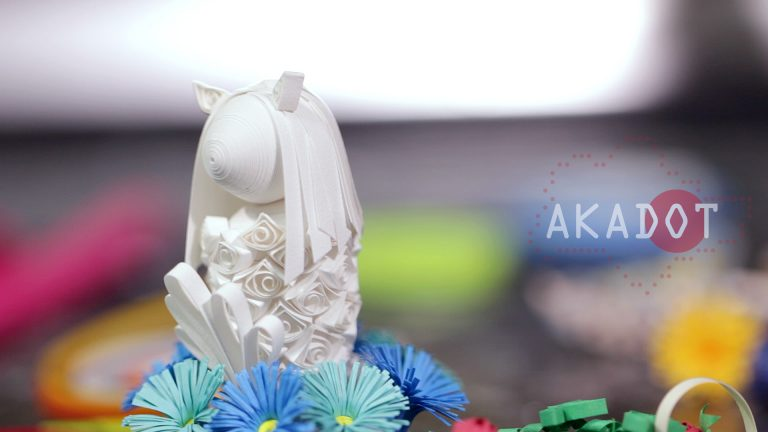 #1 Paper Quilling Merlion